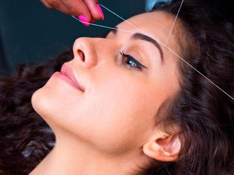 Курсы удаления волос ниткой (тридинг)