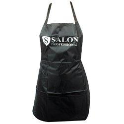 Фартук Salon черный 3 кармана 60х60 см