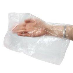 Одноразовые пакеты для рук и ног, пакеты для парафинотерапии Украина в ассортименте, 100 шт