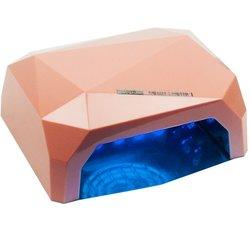 LED+CCFL лампа многогранник 36 Вт сенсор, бежевый