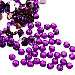 Стразы - камни YRE - фиолетовый, в упаковке