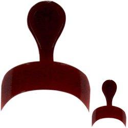 Типсы YRE - красный для френча, 100 шт