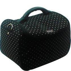 Сумка (чемодан) для мастера - черный в горох