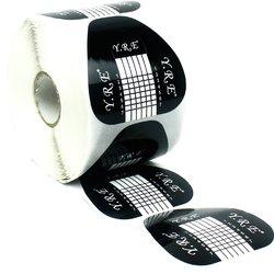 Форма для наращивания ногтей YRE - черный, 500 шт