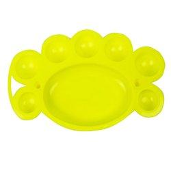 Палитра YRE пластмассовая желтая (А020)