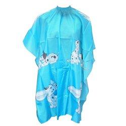 Пеньюар YRE детский - голубой (принт-далматинцы)