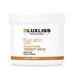 Luxliss Keratin Protein Repairing Hair Mask - восстанавливающая маска с протеинами кератина, 400 мл