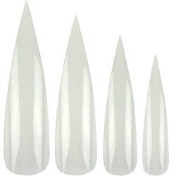 Типсы YRE - белый, 500 шт (KKR-003)