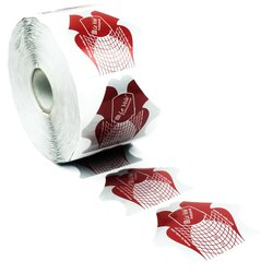 Форма для наращивания ногтей LeVole - красный, 500 шт