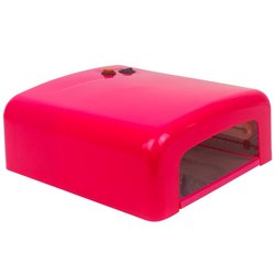 УФ лампа для сушки YRE 36 Вт №818 (L-13), темно-розовый