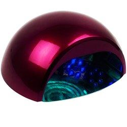 LED+CCFL лампа 24 Вт шарик, малиновый