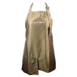 Фартук ESTET Короткий коричневый 2 кармана 83х60 см