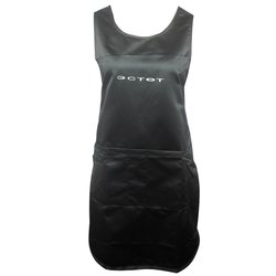 Фартук ESTET двойной черный 3 кармана 65х85 см