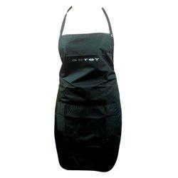 Фартук ESTET черный 2 кармана на кнопке 65х85 см