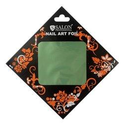 Фольга для литья Salon  №186 - зеленый ментол (глянец)