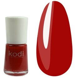 Лак №6 KODI - насыщенный красный, 15 мл