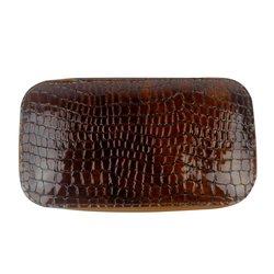 Маникюрный набор Сталекс на молнии коричневый
