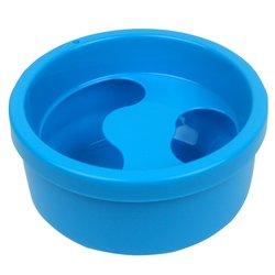 Ванночка для маникюра круглая, голубой