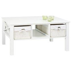 Стол кофейный OURE, белый (3609952Ю)