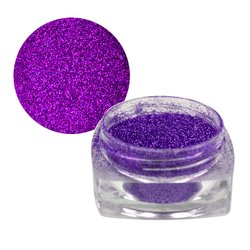Цветной песок для ногтей YRE - лаванда с блеском