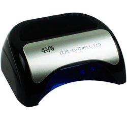 LED+CCFL лампа козырек с LCD дисплеем 48 Вт, черный