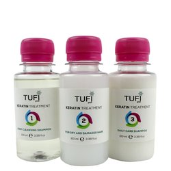 Домашний набор для кератирования Tufi Profi для сухих и поврежденных волос
