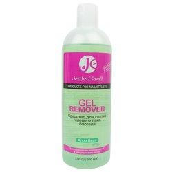 Jerden Proff Gel Remover - жидкость для снятия гель-лака алое вера, 500 мл