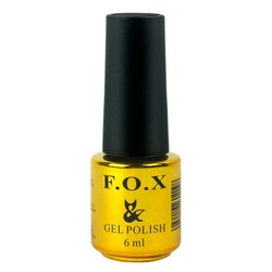 Топ F.O.X Top Coat - верхнее покрытие для гель-лака, 6 мл