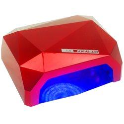 LED+CCFL лампа кристалл 36 Вт сенсор, красный