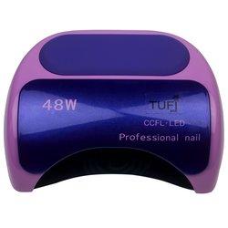LED+CCFL лампа Tufi Profi  48 Вт с козырьком, фиолетовый