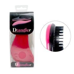 Профессиональная расческа Dtangler, малиновая волна