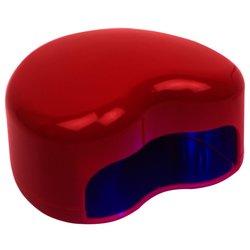 LED лампа сердце 9 Вт, красный
