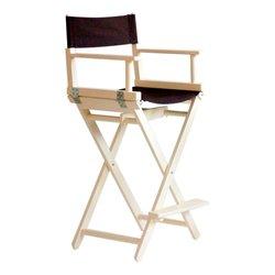 Кресло визажиста складное, белый