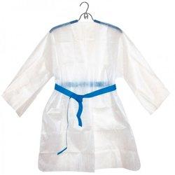 Куртка для прессотерапии Doily на завязке L-XXL, белый, 5шт