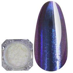 Зеркальная пудра Born Pretty №8 - сине-фиолетовый