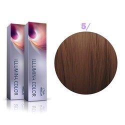 Краска для волос Wella Illumina Color № 5/ (светло-коричневый)