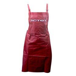 Фартук ESTET 4 кармана, бордовый