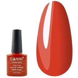 Гель-лак Canni №137 - красно-оранжевый, 7,3 мл