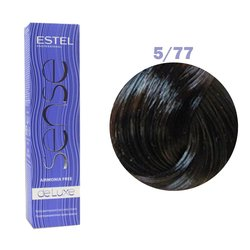 Краска для волос Estel Sense №5/77 (интенсивный коричневый светлый шатен)