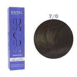 Краска для волос Estel Sense №7/0 (русый)