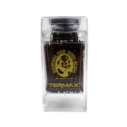 Невидимки Termax коричневые в коробке, 100 шт
