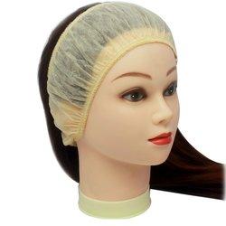 Повязка для волос одноразовая, 10 шт крем