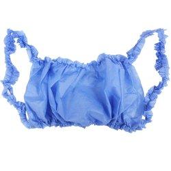 Бюстье на резинке, S-M, голубой