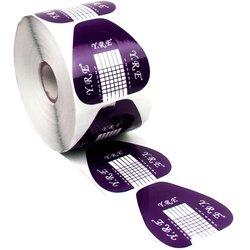 Форма для наращивания ногтей YRE - фиолетовый, 500 штук