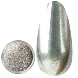 Зеркальная пудра Kodi №1 - серебро, 3 г