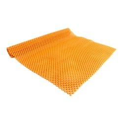 Коврик для маникюра резиновый 40х30 см, оранжевый