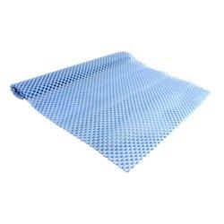 Коврик для маникюра резиновый 40х30 см, голубой