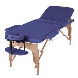 Массажный стол HQ08-DEN Comfort, синий
