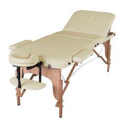 Массажный стол HQ08-DEN Comfort, светло-бежевый