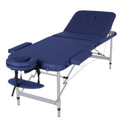 Массажный стол HQ11-LEO, синий
